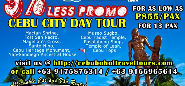 "Cebu Tours – A Tour at the ""Queen City of the South"""