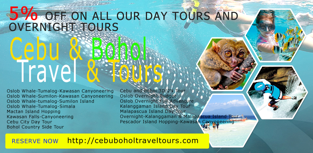 Cebu Bohol Tour Package