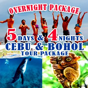 5Days and 4Nights Cebu Bohol Tour Package