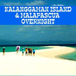 kalanggaman island malapascua island overnight