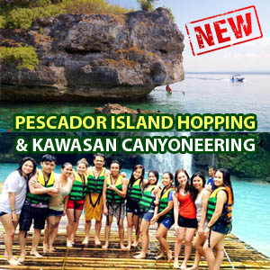 Moalboal Pescador Island Hopping and Kawasan Canyoneering