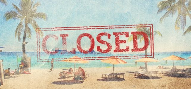 Boracay Island is officially closed starting today – April 26