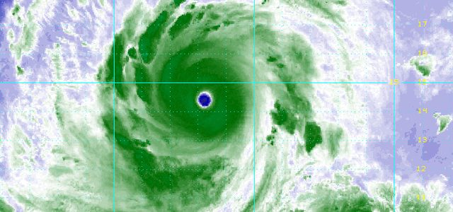 Typhoon Ompong threatens the Philippines