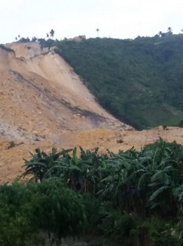 Naga landslide